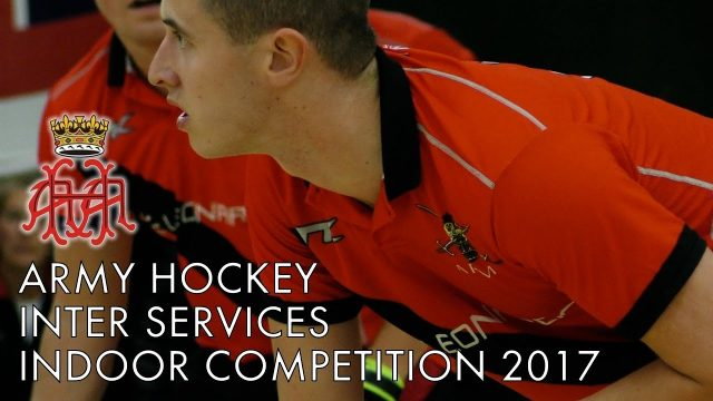 Army Hockey Indoor Inter Service Competition Montage 2017