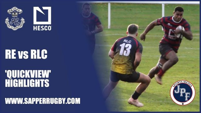 Quickview – Royal Engineers vs RLC Highlights 7-11-18