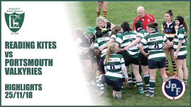 Reading Kites vs Portsmouth Valkyries Highlights 25-11-18